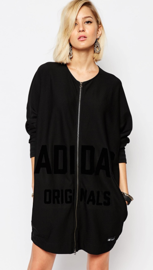 ADIDAS ORIGINALS REGISTA ZIP UP DRESS