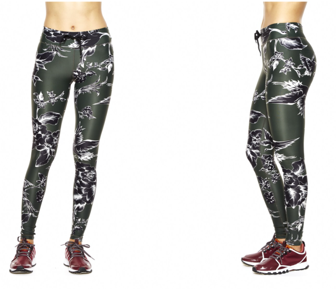 THE UPSIDE BRITISH FAUNA YOGA PANT